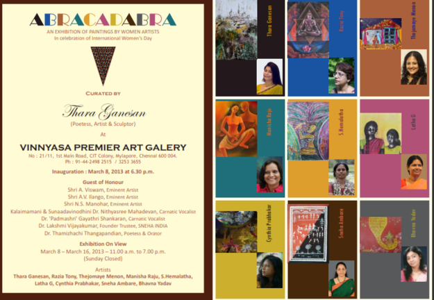 ABRACADABRA- Group Show at Vinnyasa Art Gallery, Chennai